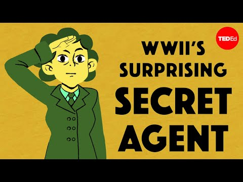 Video image: From pacifist to spy: WWII's surprising secret agent - Shrabani Basu