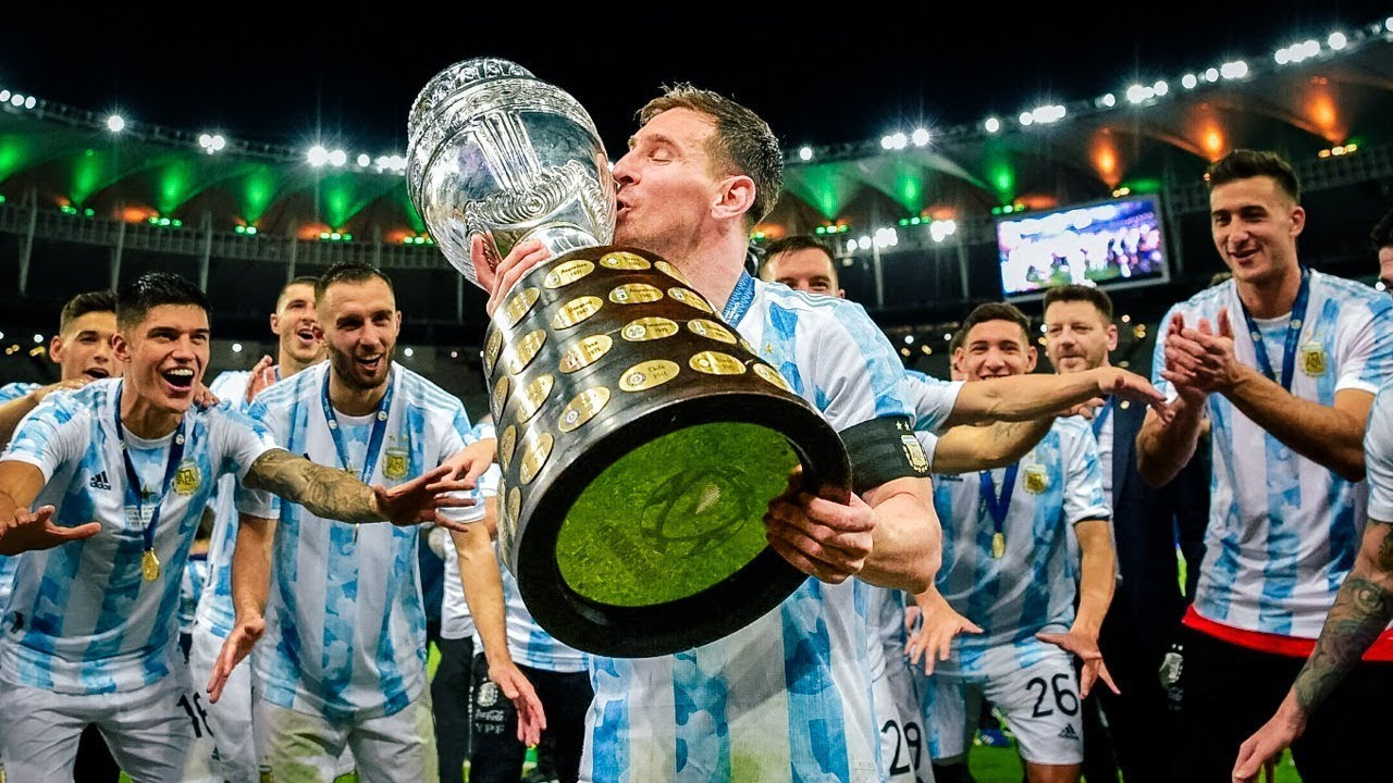 Download Argentina ● Road to Victory - Copa America 2021