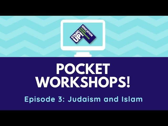 Pocket Workshop: Judaism and Islam