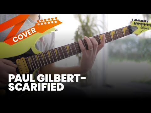 Paul Gilbert - Scarified Cover