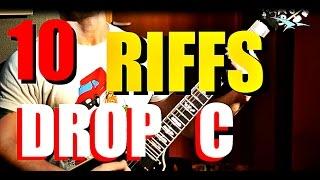 10 Guitar Riffs en Drop C #1