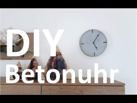 DIY BETONUHR | stilvoll und minimalistisch | Selfmade