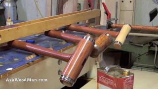42 Of 42: How To Make A Steel Hooped Wooden Mallet • Woodworking Projects