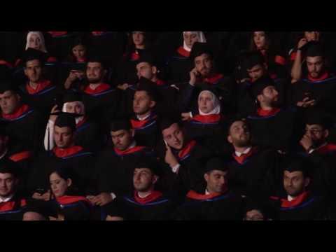 Beirut Arab University Graduation 2016 Part 2