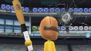 can i break a tv playing wii sports baseball with a baseball bat