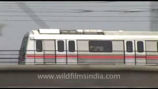 Delhi Metro Trains, India