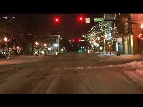 Medina snow update at 5 a.m. December 13, 2017