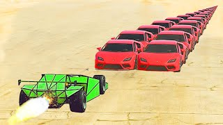 RAMP AUTO gegen 100 AUTOS in GTA 5! (krank)