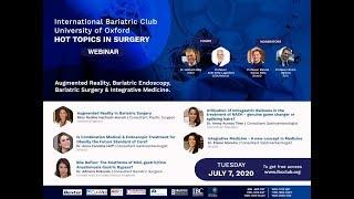 Augmented Reality, Bariatric Endoscopy, Bariatric Surgery & Integrative Medicine.
