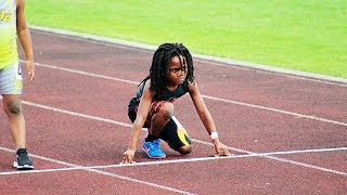 7 yr old boy runs so fast people are naming him the fastest kid in the world