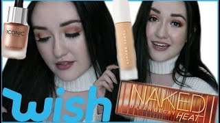 FULL FACE USING MAKEUP FROM WISH