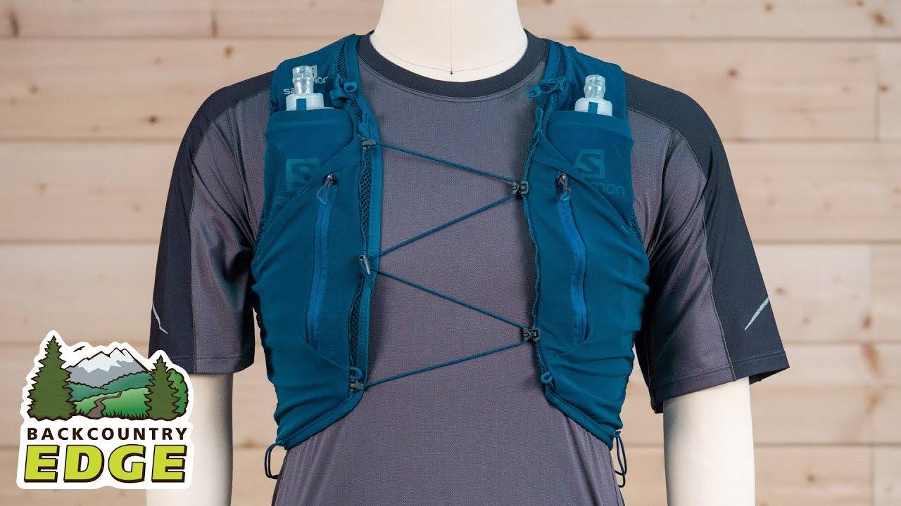 3d3eb9b19b Salomon Adv Skin 5 Set Hydration Running Vest