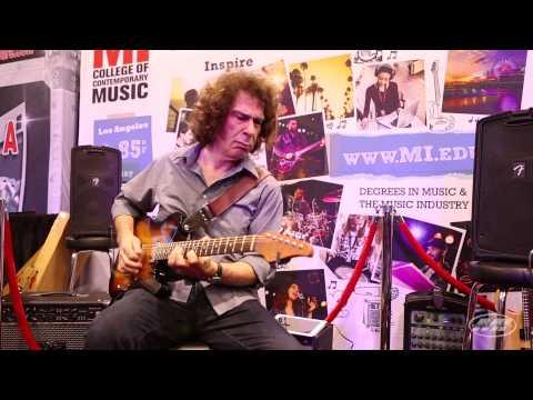 MI at NAMM 2014: Musicians Institute's Dan Gilbert Plays Incredible Jazz Guitar