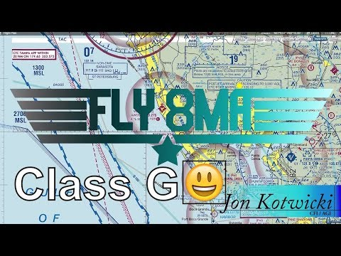 Ep. 35: Class G Airspace | Where it is and How it Works