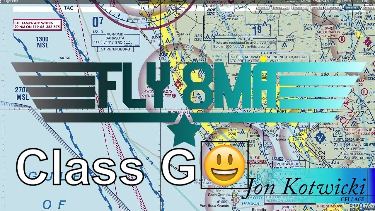 Ep Class G Airspace Where It Is And How It Works YouTube - Class g airspace map