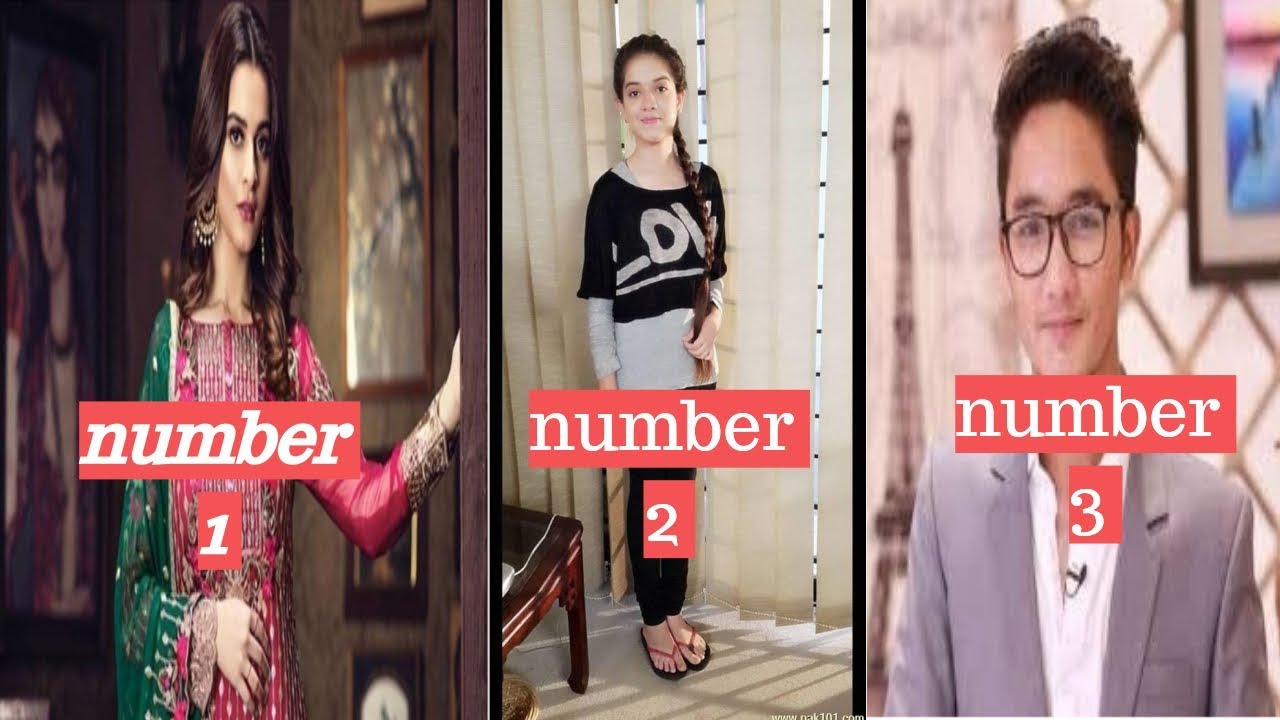 Top 10 Highest Paid Pakistani Child Actors 2019  guide 4 people