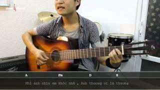Dạy Học Guitar] [Đệm Hát] [Điệu Piano Ballad]   Nụ Cười Trong Mắt Em
