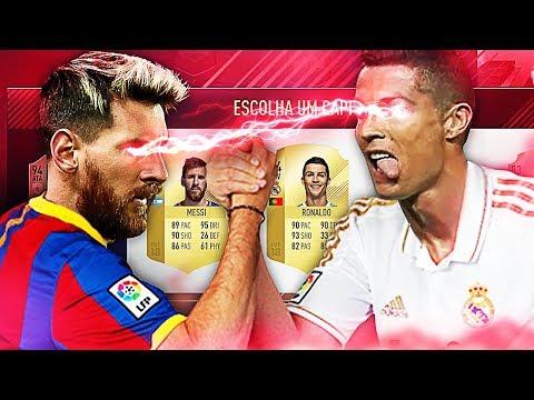 FIFA 18 FUT DRAFT - QUE TIME, MESSI vs CRISTIANO RONALDO!!!!! 😱😱😱
