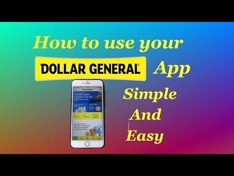 How To Use Dollar General App