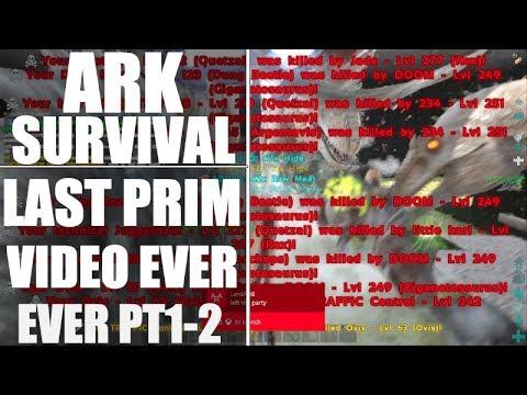 Ark Survival Massive Server Invasion DEFENCE! - The Last Primitive Ark Video (official server PVP)