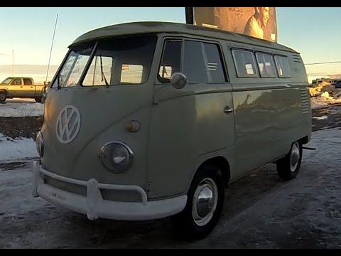 1960 volkswagen camper van for sale split window bus vw bus youtube. Black Bedroom Furniture Sets. Home Design Ideas