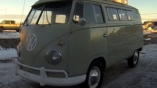 1960 Volkswagen Camper Van For Sale.  Split Window Bus.  VW Bus.