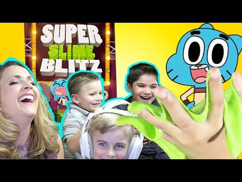 Make DIY Slime and Play Slime Blitz BubbleGum App HobbyKidsGaming