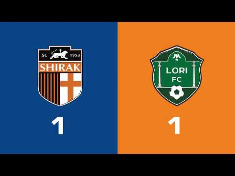 Shirak - Lori 1:1, Armenian Premier League 2018/19