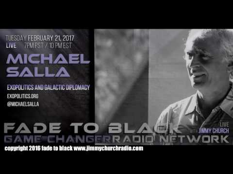 Ep. 612 FADE to BLACK Jimmy Church w/ Dr. Michael Salla : Exopolitics and Antarctica : LIVE
