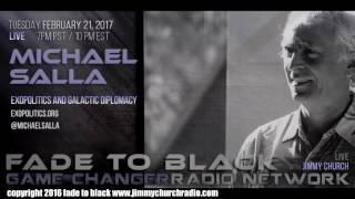 Ep. 612 FADE to BLACK Jimmy Church w/ Dr. Michael Salla : Exopolitics and Antarctica : LIVE