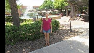 🌼🏡В центре города Гарланд, красивая центральная площадь, фонтан, ручей, много магазинчиков....