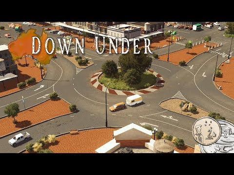 Cities Skylines: Town Roundabout #3