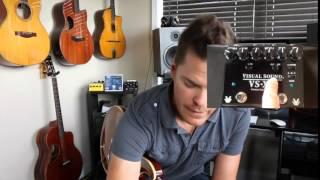 Truetone (Visual Sound) VS-XO Premium Dual Overdrive Demo by Shawn Tubbs