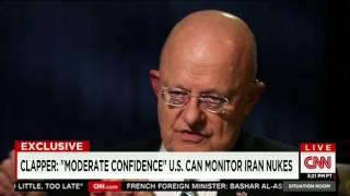 "CNN: ""Disturbing New Assessment"" Of Iran Nuclear Monitoring From Dir. National Intel. James Clapper"