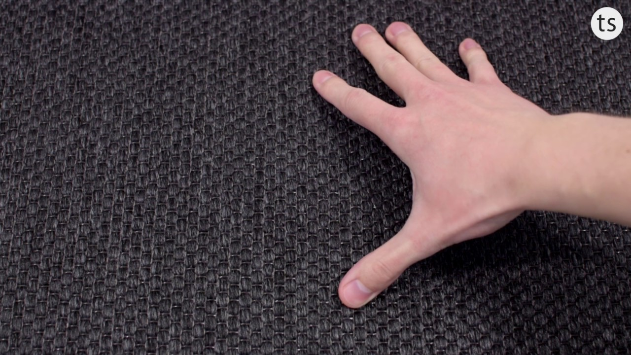 Teppichboden  Benny Teppichboden Dänisches Flachgewebe in schwarz,grau,beige ...