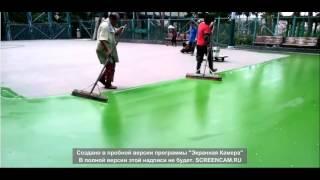 Покрытия спортивных площадок