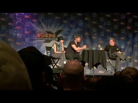 Game of Thrones' Lena Headey and Nikolaj  @Salt Lake City Comic Con #FanX15