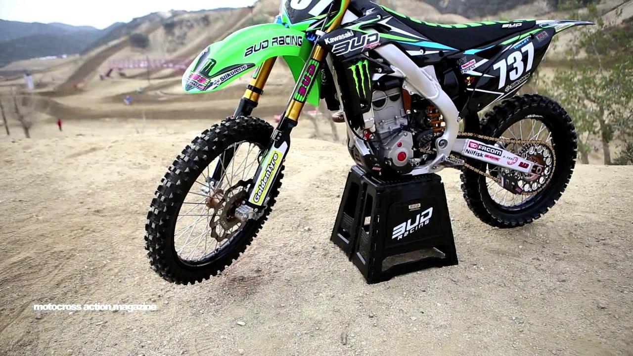 Motocross Action tests Valentin Teillet's Factory Bud Racing Kawasaki KX250F