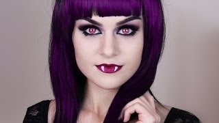 Monster High™ Frights, Camera, Action! Elissabat Makeup Tutorial Thumbnail