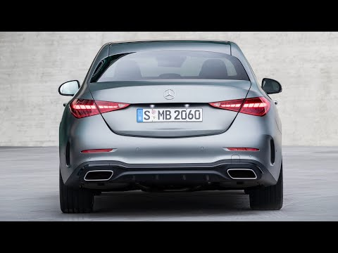 NEW Mercedes C-Class 2022 – AMG Line vs Avantgarde (exterior & interior) which one is better?