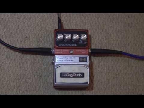 digitech dl 8 delay looper pedal review demo youtube. Black Bedroom Furniture Sets. Home Design Ideas