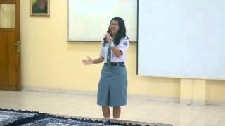 Karena Ku Sanggup - Tasya SMA 1 Ungaran (FLS2N) 2015