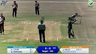 Quadrangular Under-19 Series | South Africa vs New Zealand