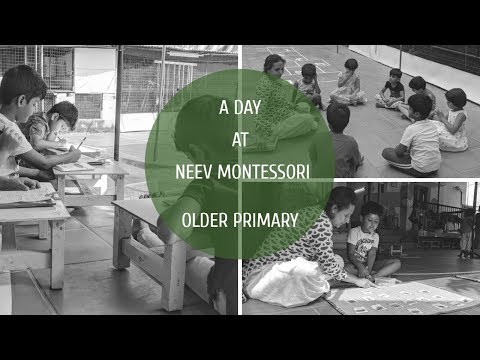 A Day At Neev Montessori School Chennai-Older Primary(4-6 YRS)