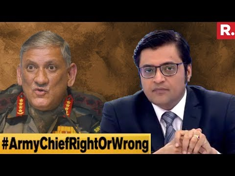 National Security Not Army's Concern? | The Debate With Arnab Goswami
