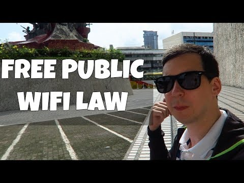 Free Public WIFI - Law Signed!