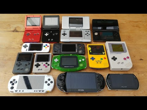 My Modded/Hacked Handheld Consoles Collection!