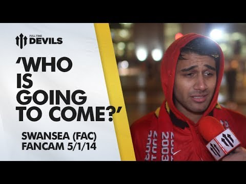 'Do Players Want To Come?' | Manchester United 1-2 Swansea City - FA Cup | FANCAM