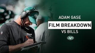"""Adam Gase Film Breakdown: """"Le'Veon Bell Is A Tough Guy To Bring Down""""   New York Jets   NFL"""
