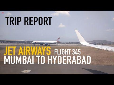 Trip Report: Jet Airways Flight 345 Mumbai CSIA to RGIA Hyderabad